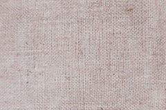 Burlap, background, texture, fiber flax Stock Photography