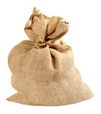 Burlap bag Stock Photo