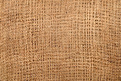 Burlap Bag Background Royalty Free Stock Photography