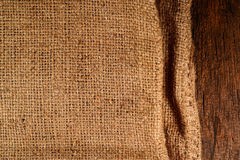 Burlap Bag Background Stock Photos