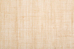 Burlap, brown fabric texture background Royalty Free Stock Photos
