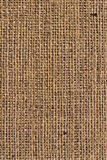 Burlap Canvas Natural Brown Loosely Woven Rough Grunge Texture. Burlap canvas, natural Brown, loosely woven, rough grunge surface texture Stock Images