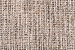Burlap canvas texture with large threads Stock Photos