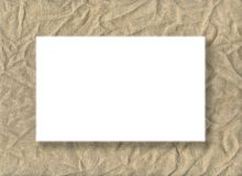 Burlap card Stock Photos