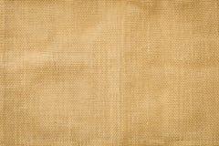 Burlap fabric background Stock Image