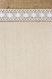 Burlap and Fabric Royalty Free Stock Image