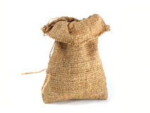 Burlap gift sack Stock Photography