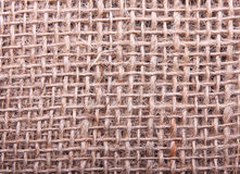 Burlap hessian sacking Royalty Free Stock Photo