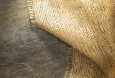 Burlap hessian sacking. At background texture stock images