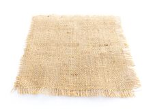 burlap hessian sacking isolated royalty free stock photo