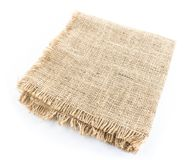 burlap hessian sacking isolated stock images