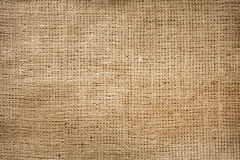 Burlap jute canvas vintage background royalty free stock image