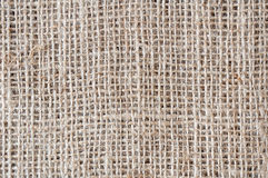 Burlap jute texture background Stock Photos