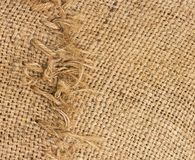 Burlap and knit texture Royalty Free Stock Images