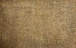Burlap, linen fabric texture Royalty Free Stock Photos