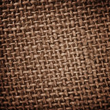 Burlap rough texture Royalty Free Stock Photography