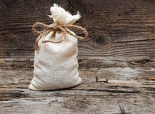 Burlap sack Royalty Free Stock Photos