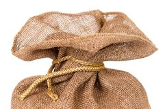 Burlap sack Royalty Free Stock Images