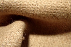 Burlap sack background Royalty Free Stock Photo