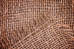 Burlap Sack Background Royalty Free Stock Images