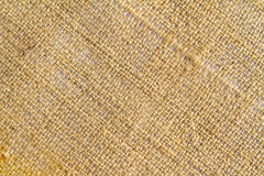 Burlap Sack Cloth Background Stock Photo
