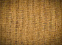 Burlap sack texture Stock Photography