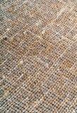 Burlap sacking texture Stock Images