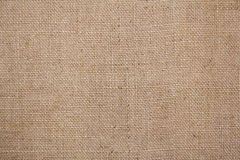 Burlap or sacking texture for the background Royalty Free Stock Image