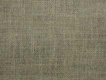 Burlap or sacking texture for the background close up. Stock Photo