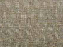 Burlap or sacking texture for the background close up. Stock Photography