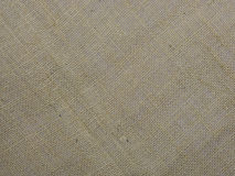 Burlap or sacking texture for the background close up. Royalty Free Stock Photo