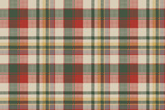 Burlap tartan fabric texture check seamless pattern. Vector illustration Royalty Free Stock Images