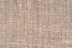Burlap tekstury tło, zamyka up Zdjęcie Royalty Free