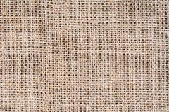 Burlap tekstury tło, zamyka up Obrazy Stock