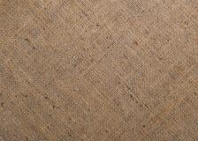 Burlap tekstury tekstylny tło Zdjęcie Royalty Free