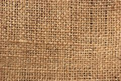 Burlap texture Stock Image