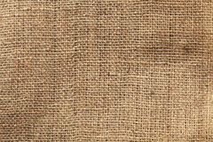 Burlap texture. Dirty burlap background or texture stock image