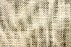 Burlap Texture Stock Photography