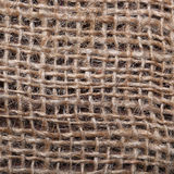 Burlap texture for background Stock Photos
