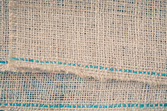 burlap texture and  background Stock Image