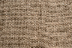 Burlap texture background Stock Images