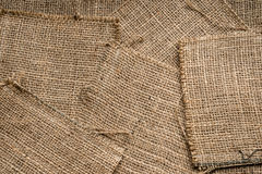 Burlap texture background Royalty Free Stock Images