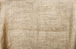 Burlap texture background Stock Photography