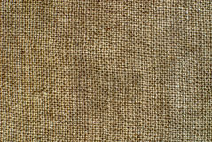 Burlap texture can be very useful for designers Stock Image