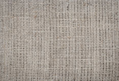 Burlap texture. Burlap fabric texture background closeup Stock Images