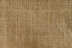 Burlap texture pattern background Stock Image