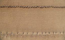 Burlap texture (sack texture) background Stock Image
