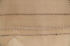Burlap texture (sack texture) background Stock Photos