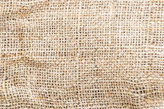 Burlap texture to use as background. Burlap brown texture to use as background Royalty Free Stock Images