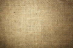 Burlap texture Royalty Free Stock Image